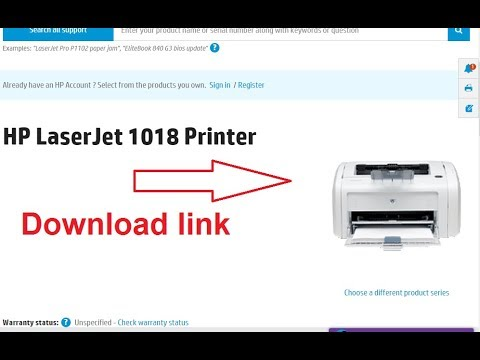 How to install hp laserjet 1018 printer driver on windows 10 and.